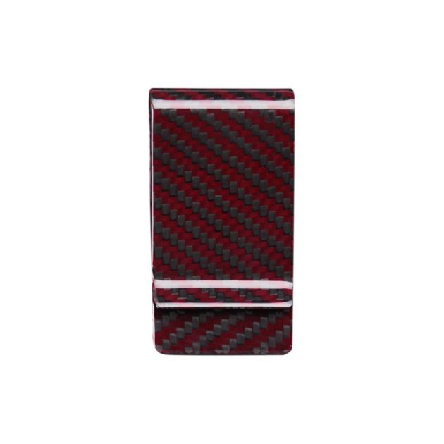 Red Carbon Fiber Money Clips