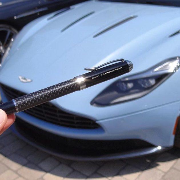 Rollerball Pen Real Carbon Fiber