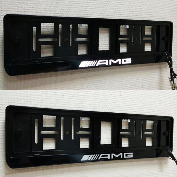 Custom LED Frame with Text Illuminated