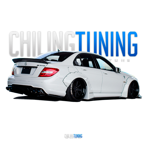 FULL BODY KIT MERCEDES-BENZ C63 coupe & sedan W204