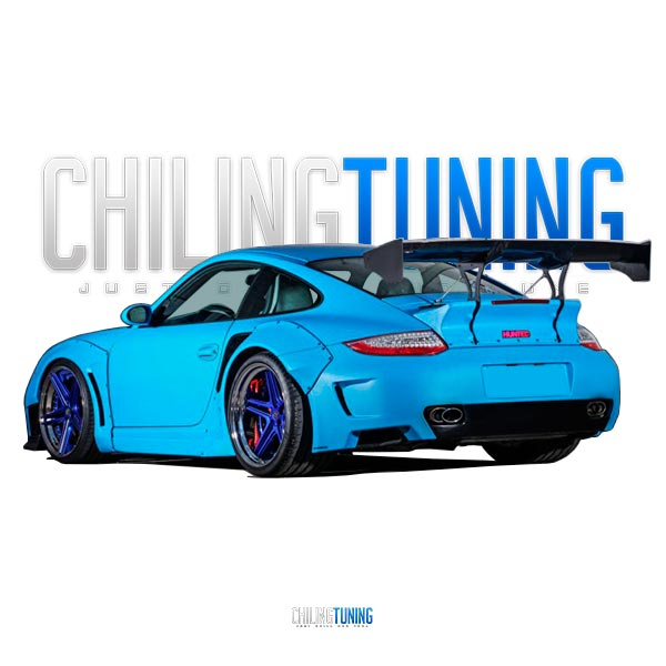 PORSCHE 997 911 TURBO FULL BODY KIT