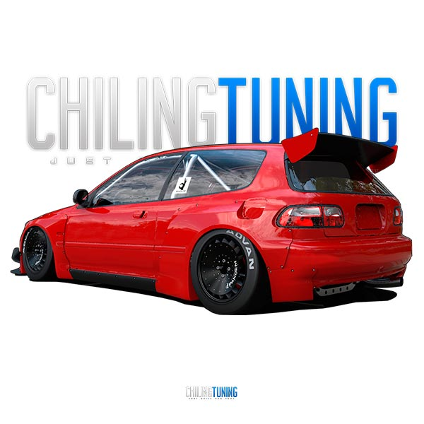 Honda Civic FULL WIDE BODY KIT