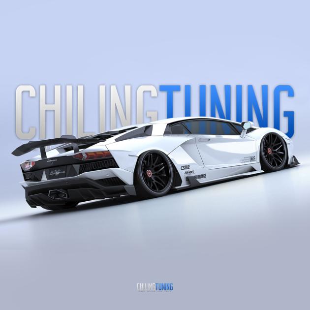 Aero kit Lamborghini AVENTADOR S