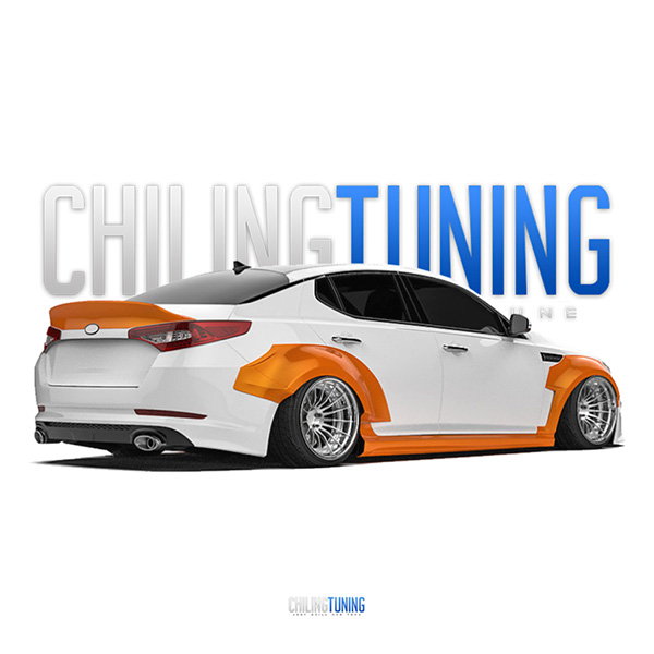 "WIDE BODY KIA Optima (K5) ""11-13"