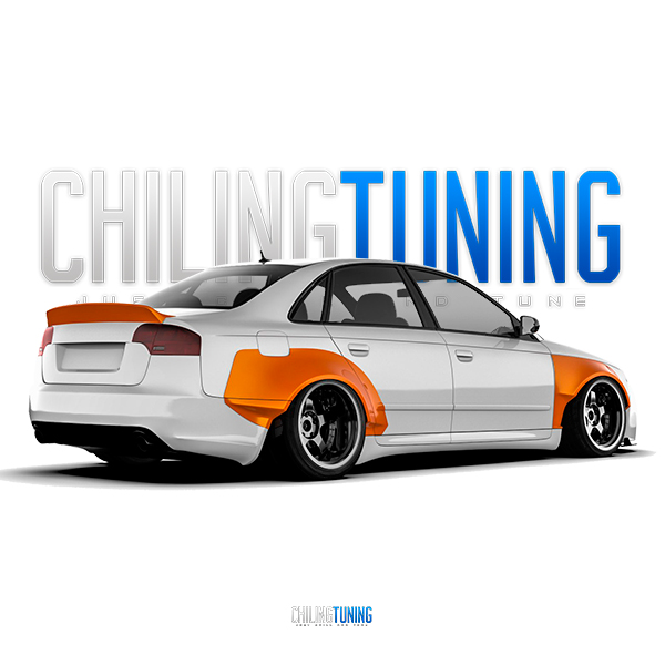 Wide Body Kit Audi A4 (B7)