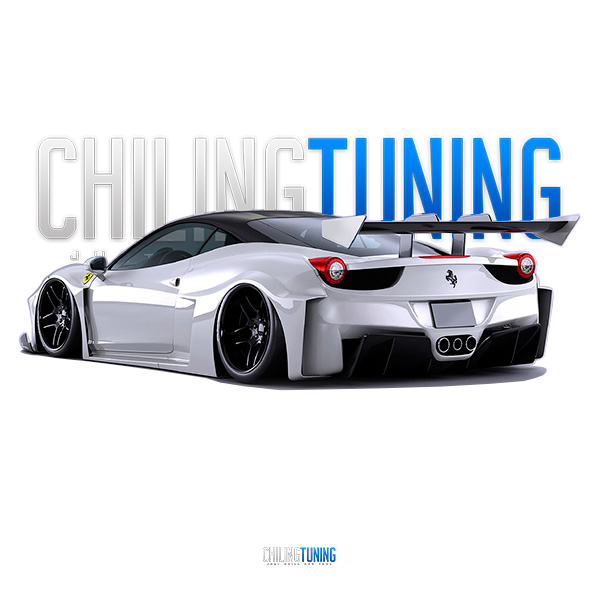 FULL WIDE BODY KIT FERRARI 458 GT Silhouette