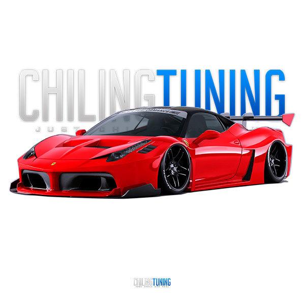 Full Wide Body Kit Ferrari 458 Gt Silhouette Chiling Tuning