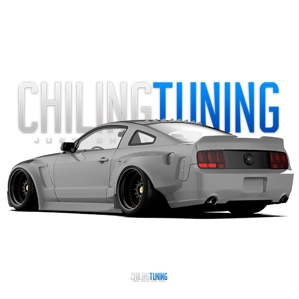 WIDE BODY KIT FORD MUSTANG
