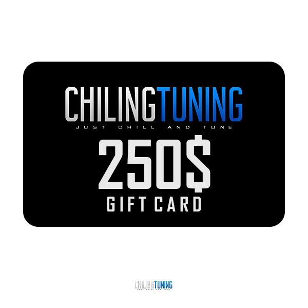 250$ GIFT CARD
