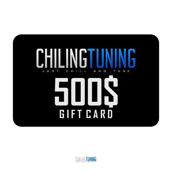 500$ GIFT CARD