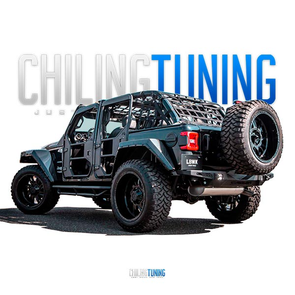Jeep Wrangler JL Wide Body Kit