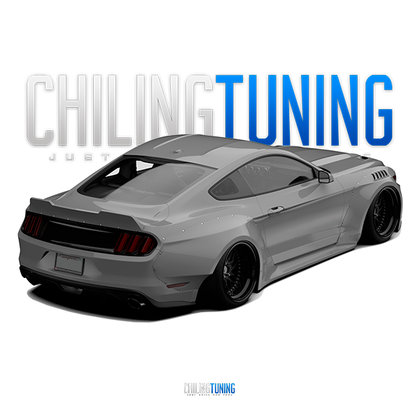 Ford Mustang S550 Wide Body Kit