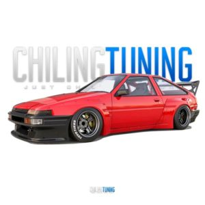 TOYOTA COROLLA AE86 TRUENO WIDE BODY KIT