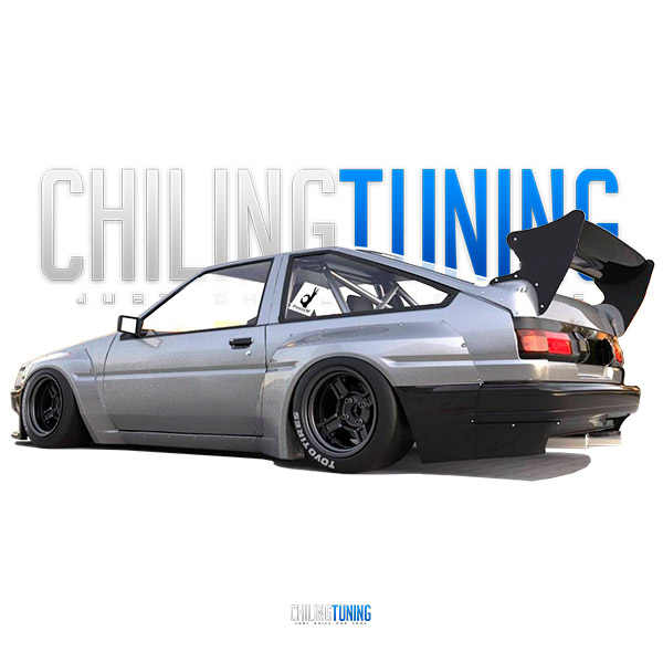 Toyota Corolla AE86 LEVIN WIDE BODY KIT